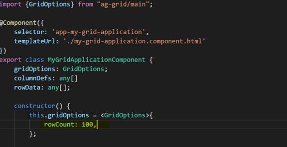 How to use Data Grid in Angular 4 : LearnAngularJS net