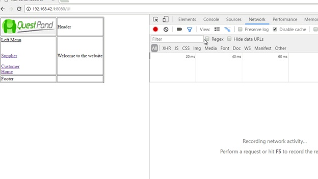 Single Page Application using Angular 2 using Angular routing